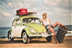 Boho Chic Girl - Coke Promotion