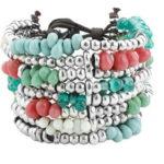 Pearl Bracelet in Ibiza Style